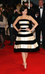 Danni at the National Television Awards a few years ago