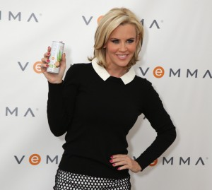 Jenny McCarthy rocking secretary chic