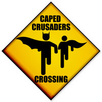 Caped_crusaders_Crossing_by_fraser0206
