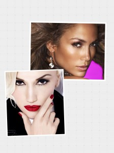 Gwen and JLo
