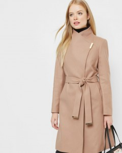 Camel coat Ted Baker