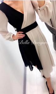 two tone wrap dress Bella Dungarvan